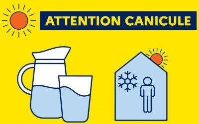 Protégez-vous des fortes chaleurs et de la canicule